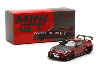 MINI GT 1/64 #191 LB-SILHOUTTE WORKS GT NISSAN 35GT-RR VER 1 LAVA RED