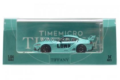 TIME MICRO 1/64 TOYOTA SUPRA LBWK TIFFANY WITH FIGURE