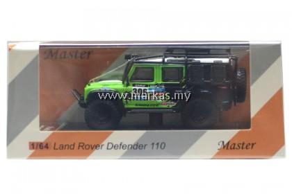 MASTER MODEL 1/64 LAND ROVER DEFENDER 110 BIGFOOT MONSTER