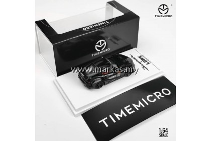 TIME MICRO 1/64 TOYOTA SPEEDSTER LB 5 # SPECIAL EDITION SHINY BLACK WITH FIGURE