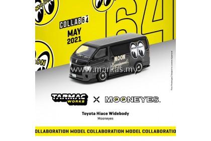 TARMAC WORKS COLLAB64 1/64 TOYOTA HIACE WIDEBODY MOONEYES