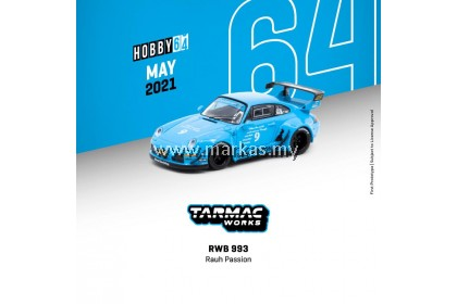 TARMAC WORKS HOBBY64 1/64 PORSCHE RWB 993 RAUH PASSION