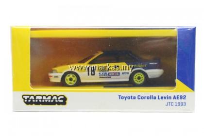 TARMAC WORKS HOBBY64 1/64 TOYOTA COROLLA LEVIN AE92 JTCC 1993