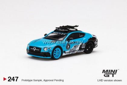 MINI GT 1/64 #247 BENTLEY CONTINENTAL GT 2020 GP ICE RACE