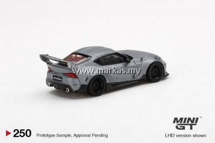 MINI GT 1/64 #250 PANDEM TOYOTA GR SUPRA V1.0 MATTE GREY