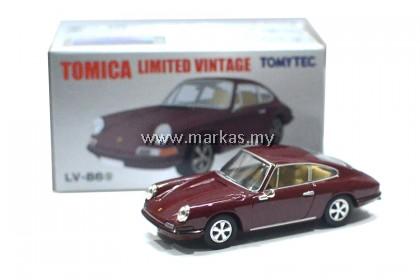 TOMICA LIMITED VINTAGE LV-86G PORSCHE 911 MAROON