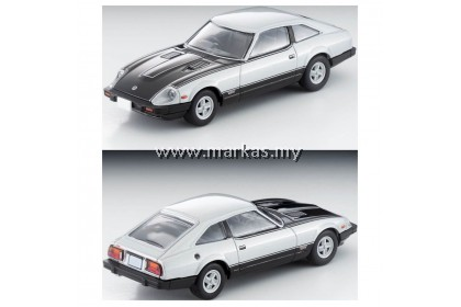 TOMICA LIMITED VINTAGE LV-N236A NISSAN FAIRLADY Z-T TURBO 2 BY 2 SILVER / BLACK