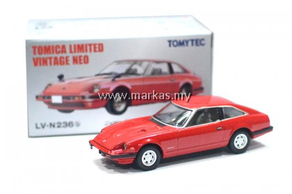 TOMICA LIMITED VINTAGE LV-N236B NISSAN FAIRLADY Z-T 2 BY 2 RED