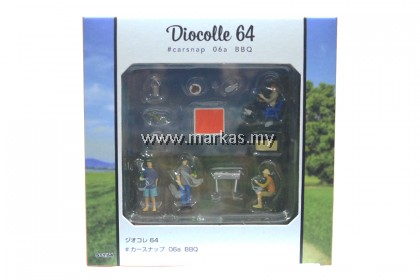 TOMICA LIMITED VINTAGE NEO 1/64 DIOCOLLE64 #CAR SNAP 06A BBQ SCENE