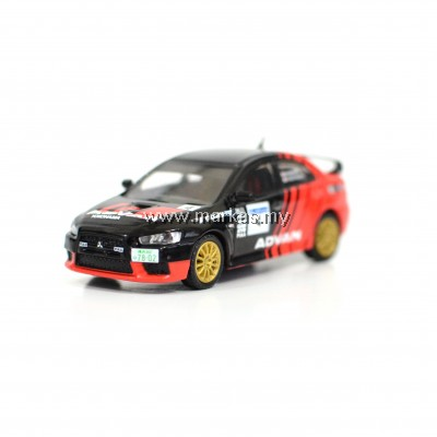 TARMAC WORKS - 1/64 MITSUBISHI LANCER EVOLUTION X JRC / ADVAN