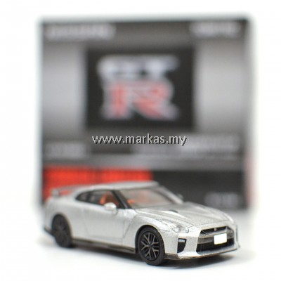 TOMICA LIMITED VINTAGE NEO LV-N148B NISSAN GTR PREMIUM EDITION 2017 MODEL (SILVER)
