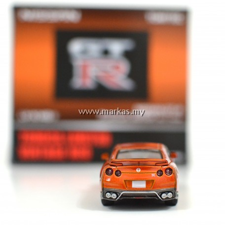 TOMICA LIMITED VINTAGE NEO LV-N148A NISSAN GTR PREMIUM EDITION 2017 MODEL (ORANGE)
