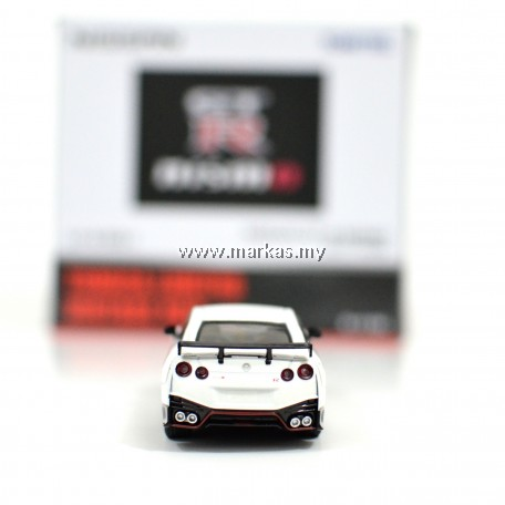 TOMICA LIMITED VINTAGE NEO LV-N153A NISSAN GTR NISMO 2017 MODEL (WHITE)