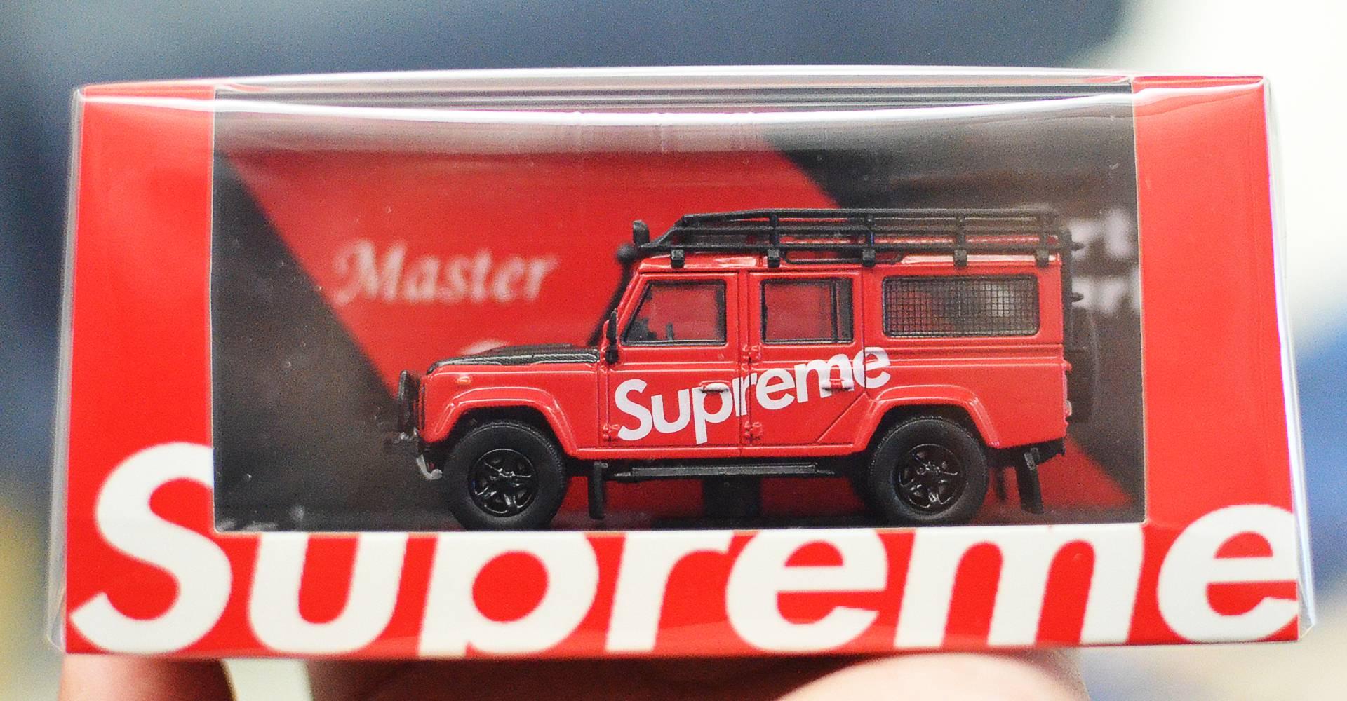 MASTER MODEL X ARTWORK 1/64 LAND ROVER DEFENDER 110 SUPREME VERSION