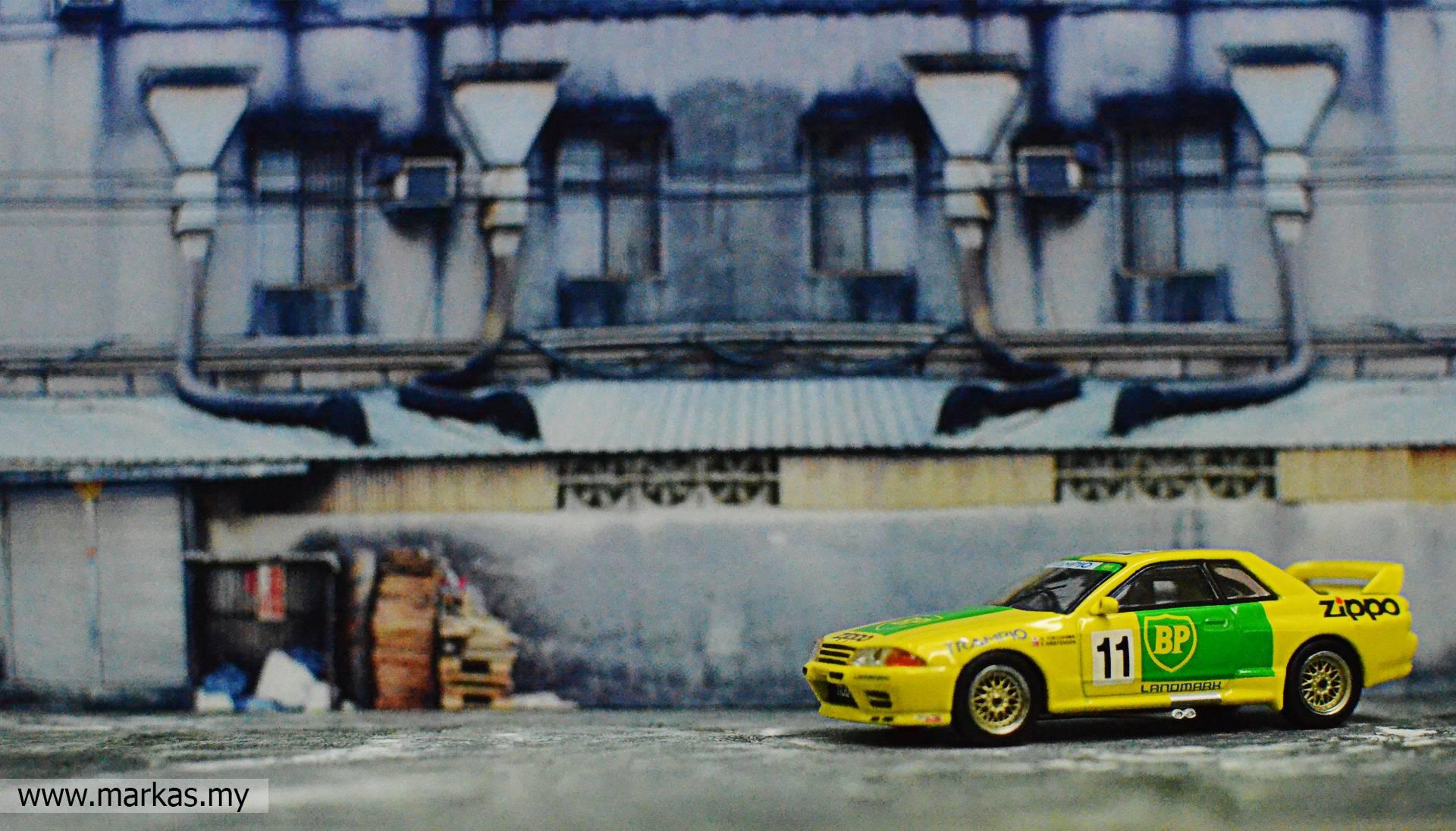 MINI GT 1/64 #178 NISSAN SKYLINE GT-R R32 GR.A #11 BP 1993 JAPAN TOURING CAR CHAMPIONSHIP